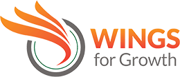 Beta – Wings for Growth Logo